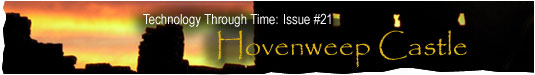 Technology Through Time: Issue #21, Hovenweep Castle