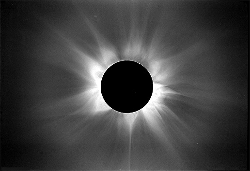 Eclipse 1980 - solar max again (Credit: High Altitude Observatory/ National Center for Atmospheric Research)