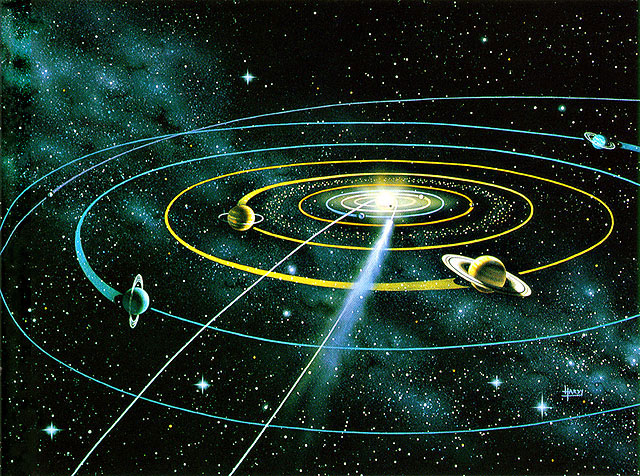 solar system scale distances from earth - photo #14