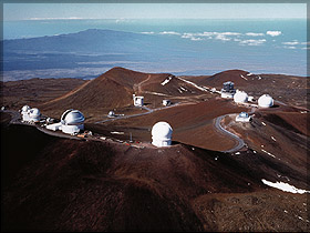 FIGURE 2: 14,000 FT SUMMIT OF MAUNA KEA OBSERVATORIES COMPLEX, HILO, HAWAII
