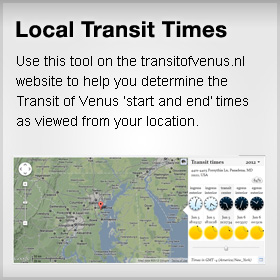 Transit Viewing Times