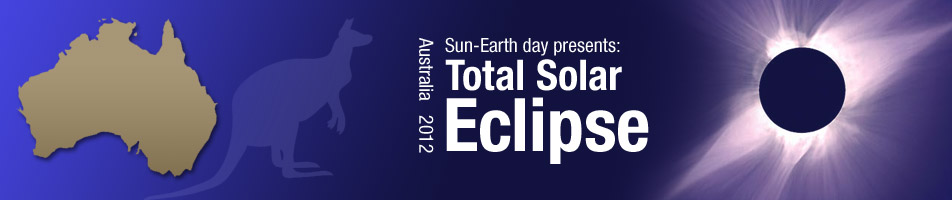 Sun-Earth Day 2012: Total Solar Eclipse, Australia