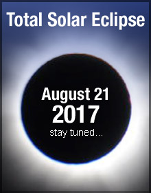 Total Solar Eclipse 2017, Stay Tuned