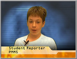 A student reporter